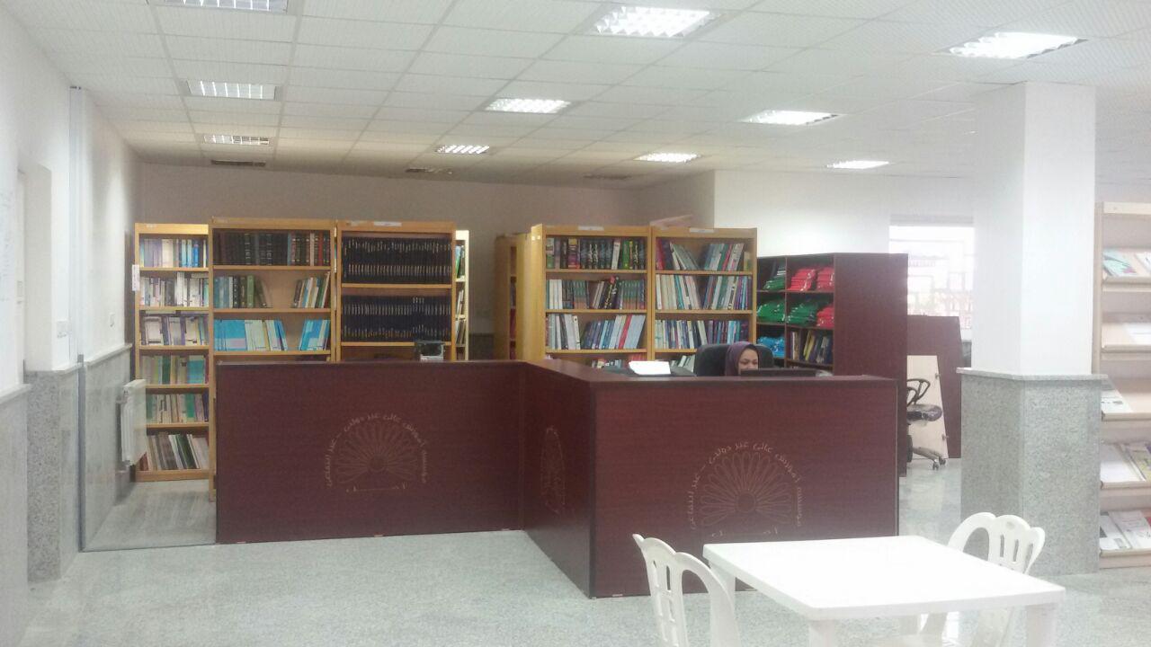 نمایی از کتابخانه دانشگاه